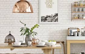 kitchen wallpaper ideas bricks wallpaper and kitchens