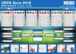 Eriks Euro 2016 Wallchart
