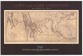united states historical maps perry castaneda map collection   lewis and clark expedition 1804 1806