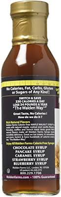 amazon walden farms calorie free maple walnut syrup 12 fl oz 2 pack grocery gourmet food