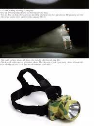 Đèn pin đeo đầu siêu sáng VegaVN / đèn pin đeo trán hà nội (Rằn ri) - Đèn  pin đội đầu siêu sáng đèn đội đầu đèn đeo đầu đèn đeo trán