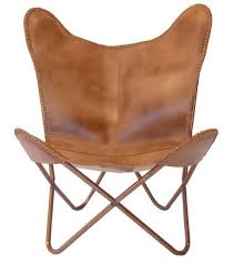 african decor furniture. Butterfly Chair Caramel Leather African Decor Furniture