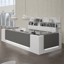 home office furniture contemporary. reception desks contemporary and modern office furniture this gray home r