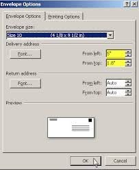 a 7 envelope vicky and things how to print addresses on a 7 envelopes using
