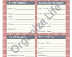Pet Sitter Notes Template 36 Inspirational Pet Sitting Invoice Free