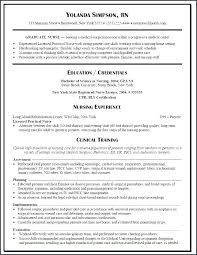 Nursing Resume Sample Stylish Nurse Resume Nursing Resume Samples ...
