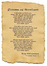 Paper Flower Lyrics Flower Of Scotland Lyrics On Parchment Paper The Corries Official
