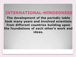 TOPIC 3 PERIODICITY 3.1 PERIODIC TABLE. ESSENTIAL IDEA The ...