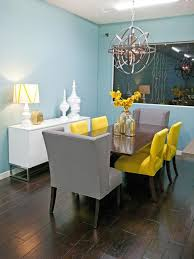 pale yellow dining room. colorful dining room by hgtv design star runnerup britany simon pale yellow w