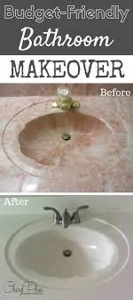 Refinish Bathroom Countertop Best 10 Refinish Countertops Ideas On Pinterest Cheap Granite