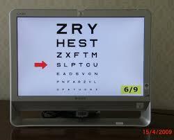 Digital Vision Chart Mdv Snellen Test