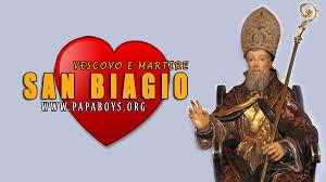 Il Santo di oggi 3 Febbraio 2020 San Biagio, Vescovo e Martire