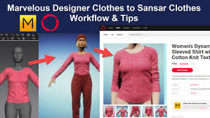 Marvelous Designer Discount Coupon Marvelous Designer 7 To Sansar Workflow Video Tutorials