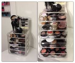 ... Drawer design, White Rectangle Modern Plastic Makeup Organizer Drawers  And Make Up Ideas: Modern ...