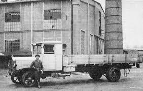 first diesel engine. Benz Model 5 Truck First Diesel Engine