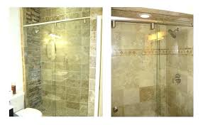 tempered glass shower door alternatives to glass shower doors this stylish alternative in 3 8 tempered