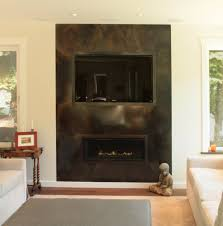 Gossamer Steel Metal Works Tv Fireplace Surround .