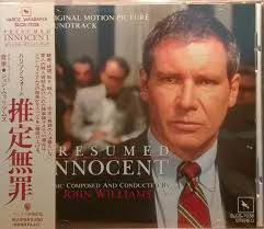 Presumed Innocent Film Custom John Williams 48 Presumed Innocent Original Motion Picture