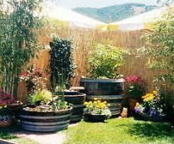 barrel garden. Barrel Garden R