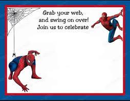 Spiderman Birthday Invitation Templates Free Spiderman Templates Free Major Magdalene Project Org