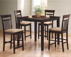Pub Style Kitchen Table Sets Dining Room 5pc Counter Height Pub Table Dinette Set With Pub