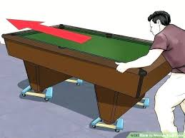 rug under pool table or not image titled move a how to put