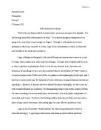 belief and certitude essay international baccalaureate theory of page 1 zoom in