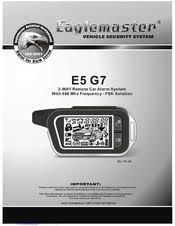 eaglemaster e5 g7 manuals Basic Car Alarm Diagram eaglemaster e5 g7 user manual