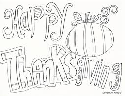 Happy Thanksgiving Coloring Pages 2017 Free