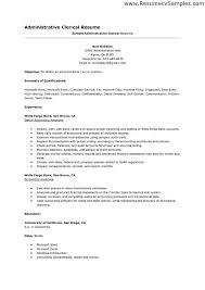 clerical resume templates executive administrative assistant