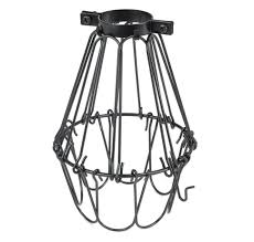 Lighting diy wire cage pendant light lights for emergency wall