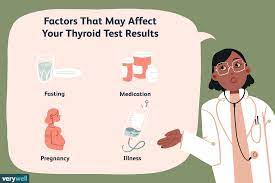 Persistent fluctuations can occur, and they are a sign that you need your medication dose changed. Factors That Affect Your Thyroid Test Results