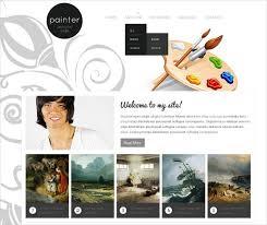 Artist Website Templates Impressive Artist Website Templates 28 Artists Website Themes Templates Free