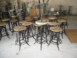 Vintage Industrial Style Bar Stools Ideas Doma Kitchen Cafe