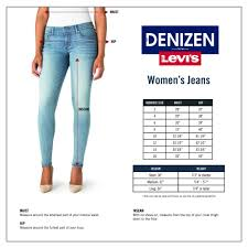 Levis Size Chart Womens World Of Reference