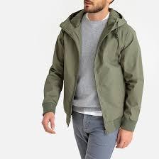 <b>Блузон</b> короткий с капюшоном зеленый хаки <b>La Redoute</b> ...