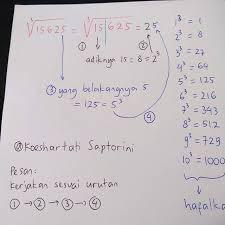 Bimbel diah jakarta timur cara menghitung akar akar pangkat tiga kurang dari 1 menit guraruguraru. Unsd Instagram Posts Gramho Com