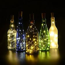 bottle lighting. fairy lights igopeaks 6 pcs starry string wine bottle with cork for bedroom lighting