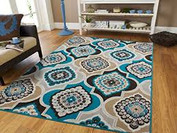 com new modern blue gray brown x rug area casual x in and inspirations