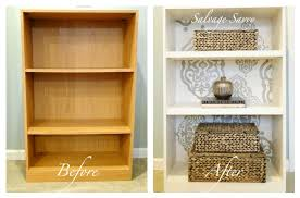 laminate furniture makeover. Finding Fabulous: Cheap To Chic...laminate Bookcase Makeover! Laminate Furniture Makeover H