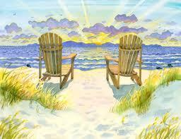 adirondack chairs on beach sunset. Beautiful Beach Image 0 To Adirondack Chairs On Beach Sunset O