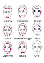 styles face diffe face shapes makeup 1000 images about correction of make up on face shapes