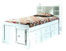 full size storage bed plans. Queen Size Captains Bed Full Storage With Bookcase Headboard  . Plans I