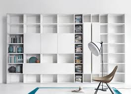 ... Terrific Bookcase Wall Units Build Your Own Bookcase Wall White Wooden  Cabinet With ...