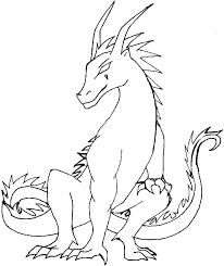 Small Picture Free Printable Dragon Coloring Pages For Kids With Fire Breathing