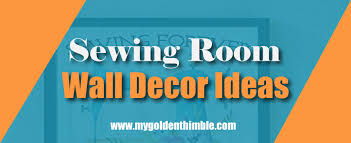 19 amazing sewing room wall decor ideas