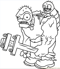 Small Picture printable Gargantuar plants vs zombies coloring pages free Free