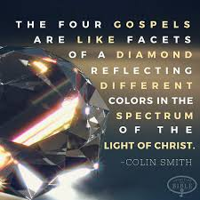 Reflecting The Light Of Christ Smith The Four Gospels Are Like Facets Of A Diamond