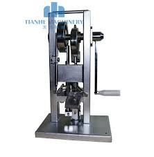 manual single punch tablet press pill press machine pill making lightest type tdp 0 hand operated mini type 20kg in testing equipment from home