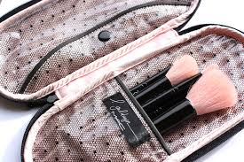 onesque makeup brush cleanser mac makeup bag leopard orange the brushes e with an adorable leopard print case that is